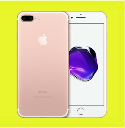 original iphone 7 plus 32gb memoria libre rosado semi nuevo