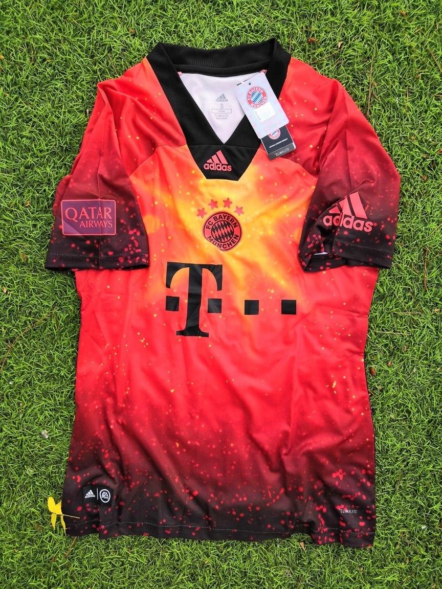 new style 56893 ffdf5 Original Jersey Ea Sports Bayern Munich Talla Chica