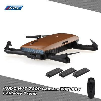 original jjrc h47 720p cámara plegable rc selfie quadcopter