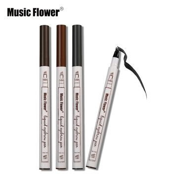original lapiz plumon de cejas music flower tono brown