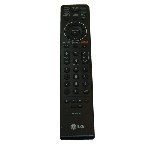 original lg control remoto para 23lx1r tv televisión