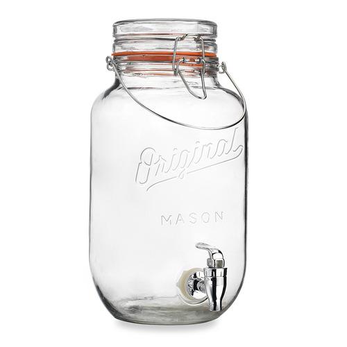 original mason jar dispensador de bebidas 3.6qt  3.48 litros