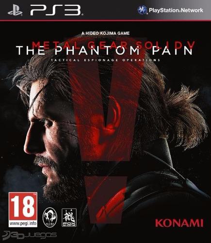 original, metal gear solid 5 phantom pain ps3 nuevo