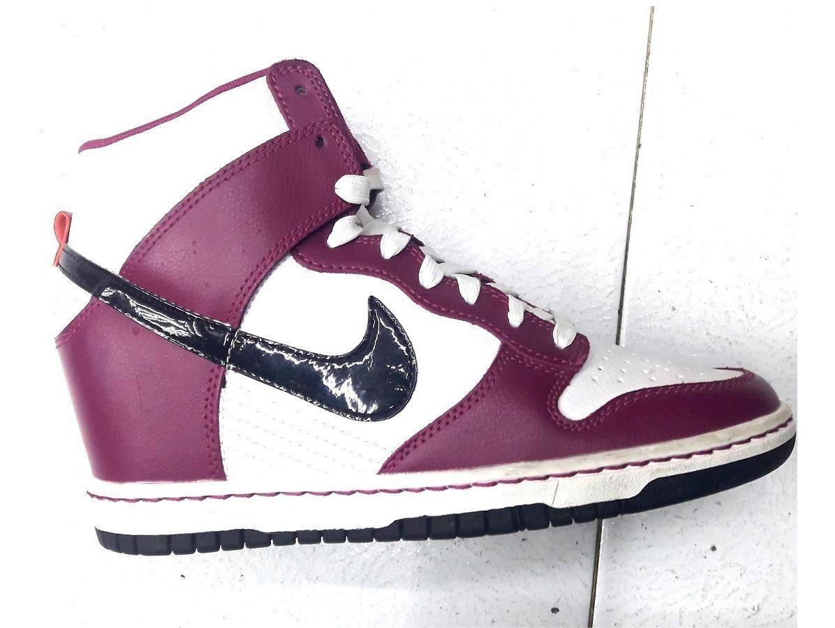 Original Mujer Nike Force Sky High Purple Suela Plataforma
