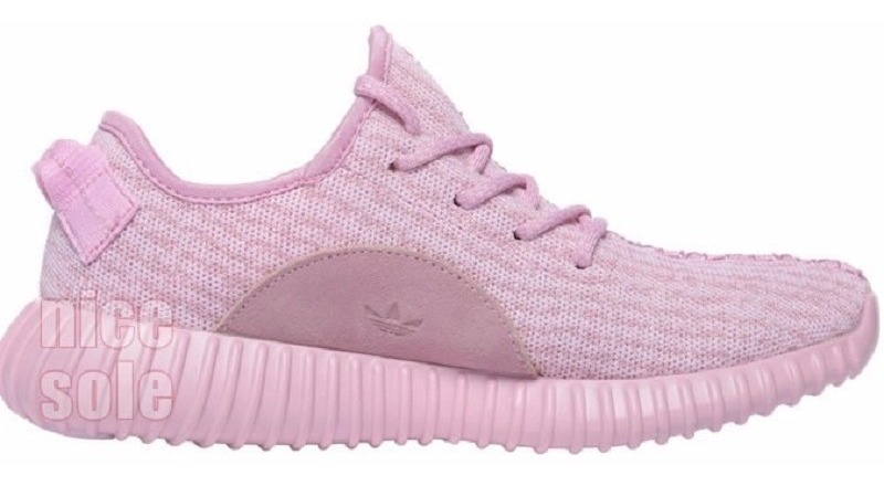 gran descuento e6f81 2e17d Original Mujer Tenis adidas Yeezy Boost 350 Rosa Kanye West