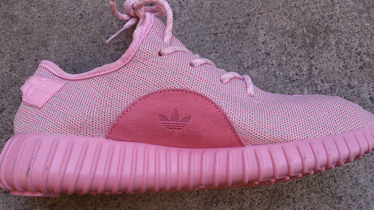 Original Mujer Tenis adidas Yeezy Boost 350 Rosa Kanye West