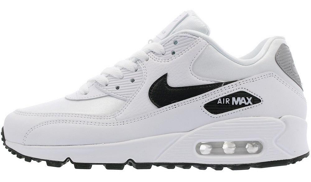 Original Mujer Tenis Nike Air Max 90 Capsula Blanco Negro Dña Tenisshop