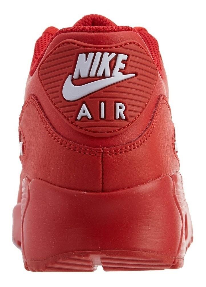 Original Mujer Tenis Nike Air Max 90 Premium Capsula Rojo Ltv Original Tenisshop