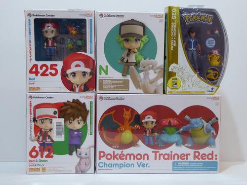 original nendoroid pokemon trainer red champion disponibilid