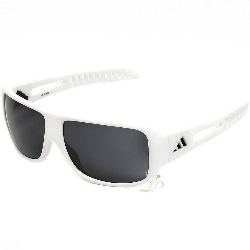 a8cc5b53a original óculos de sol adidas branco cinza masculino novo. Carregando zoom.