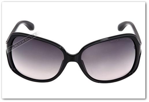 02d095cd6 Original Óculos De Sol Feminino Marc Jacobs Preto Grande - R$ 1.149 ...