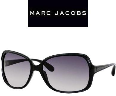 Original Óculos De Sol Feminino Marc Jacobs Preto Grande - R  1.149 ... 6cb4c452cf