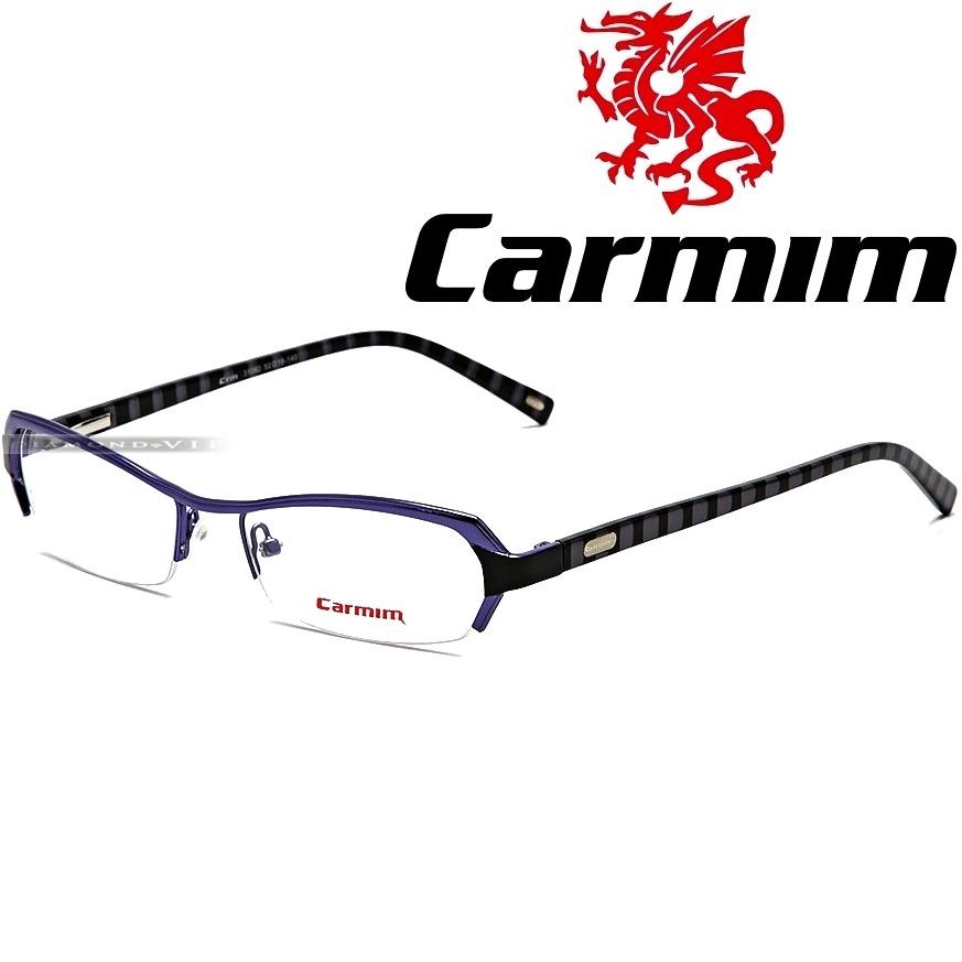 006c59775a296 Original Óculos Grau Carmim Masculino Armação Preto Metal - R  439 ...