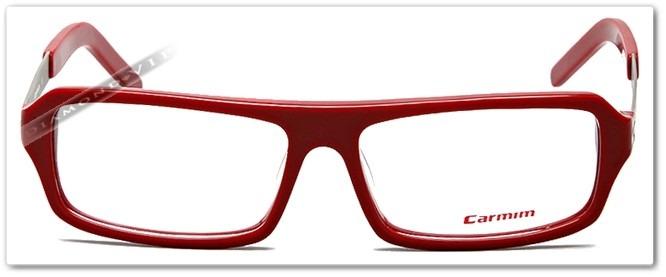 Original Óculos Grau Masculino Armação Carmim Vermelho Prata - R ... 38cff966cd