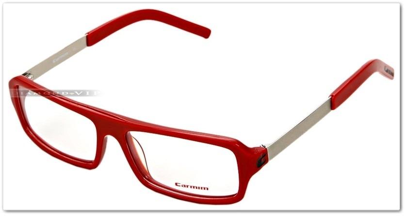 original óculos grau masculino armação carmim vermelho prata. Carregando  zoom. 1691ab276f