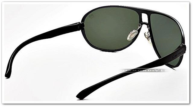 501eff501 Original Óculos Sol Aviador Masculino Carmim Preto Metal - R$ 499,99 ...