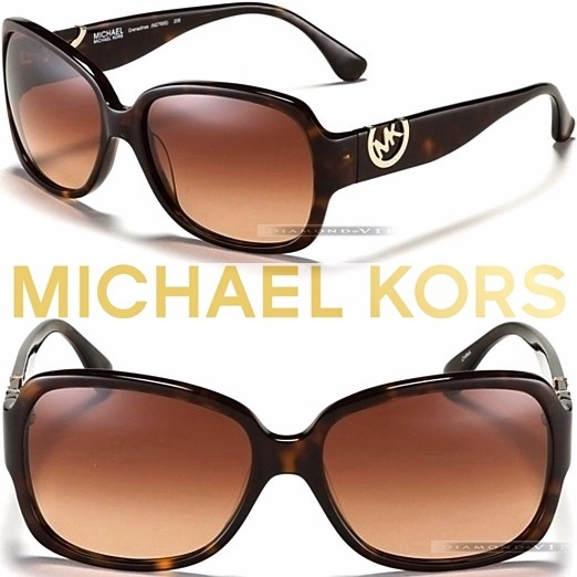 3b9b379f63739 Original Óculos Sol Feminino Michael Kors Marrom Tartaruga - R ...