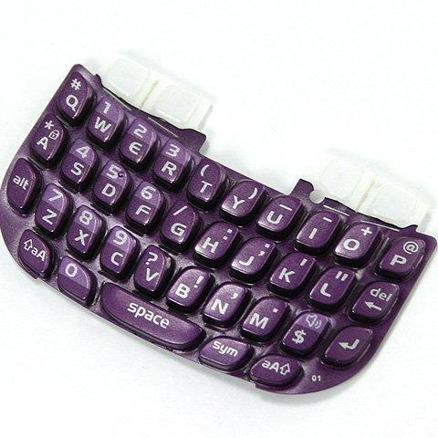 original oem blackberry  teclado de teclado púrpura
