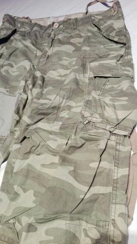 original pantalon gap outfitters camuflaje militar talla 36