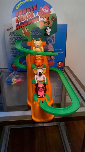 original pista de la jungla musical 1987- juguetes devoto