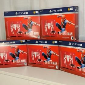 Original Playstation 4 Slim 1 Tb Spiderman