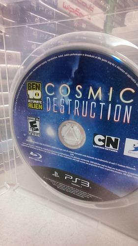 original ps3 ben 10 cosmic destruction