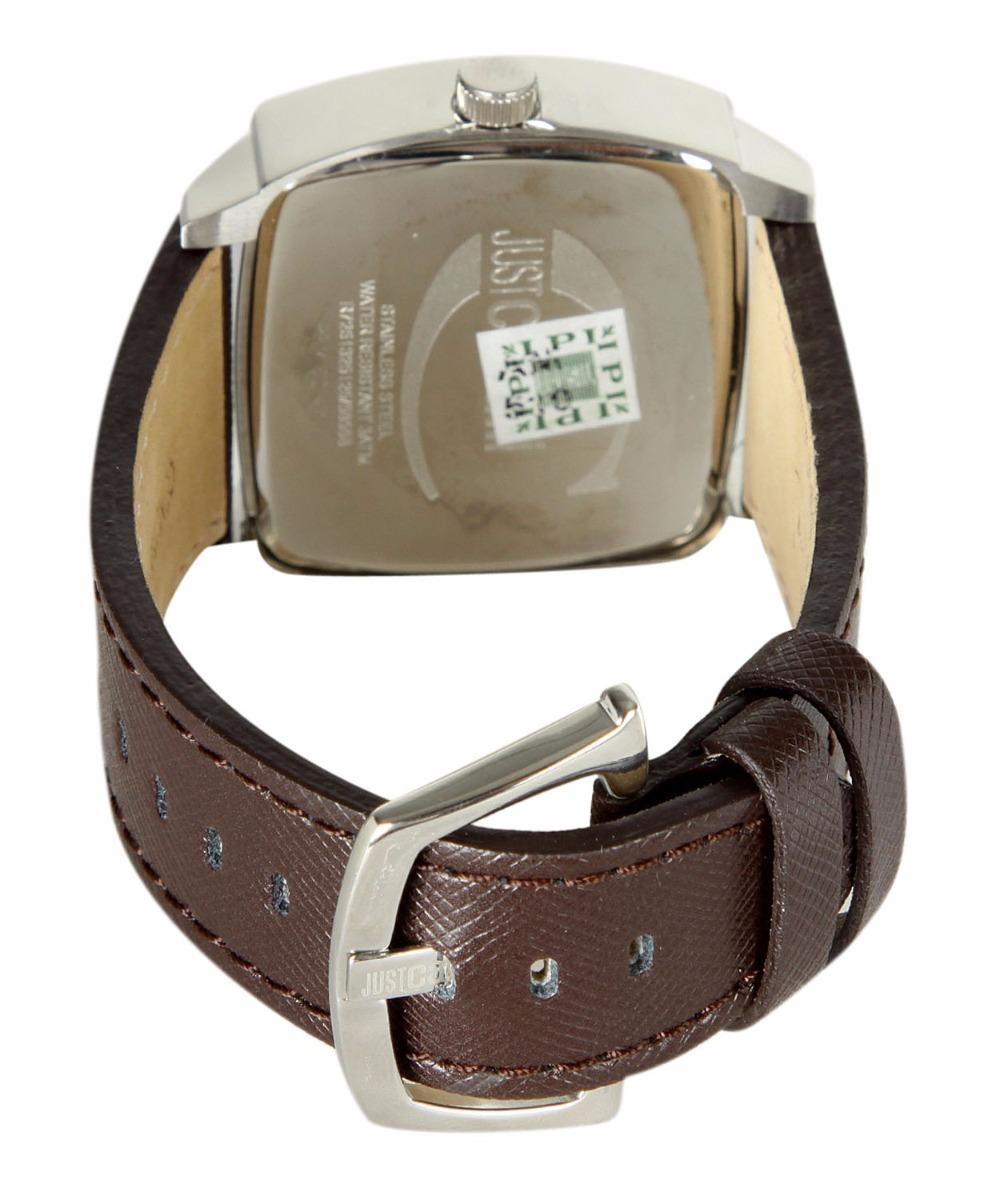 da633f39a94d7 original relógio masculino couro marrom prata just cavalli. Carregando zoom.