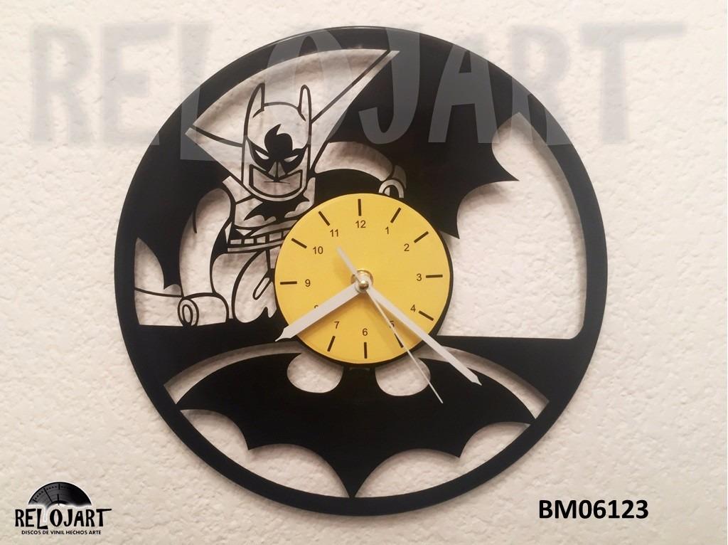 Original reloj de pared disco acetato lp batman lego - Reloj pared original ...