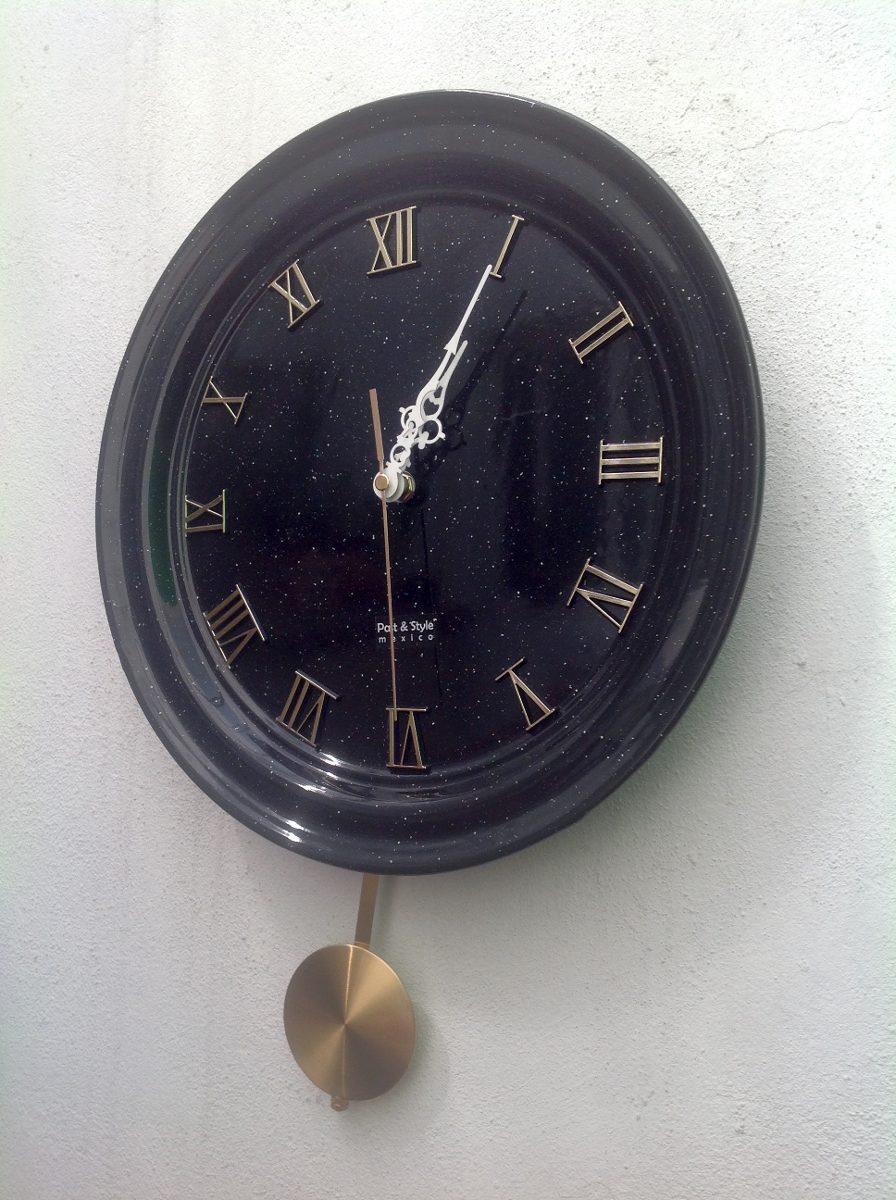 Original reloj de peltre 32cm p s - Reloj pared original ...