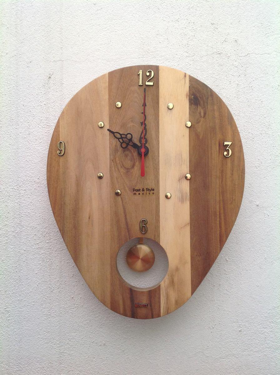 d831dbb63a9f original reloj pared coc2 madera cuarzo. nuevo. Cargando zoom.