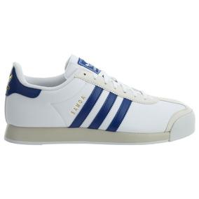 Original Retro Tenis adidas Samoa Originals Piel White Blue Tnl Tenisshop