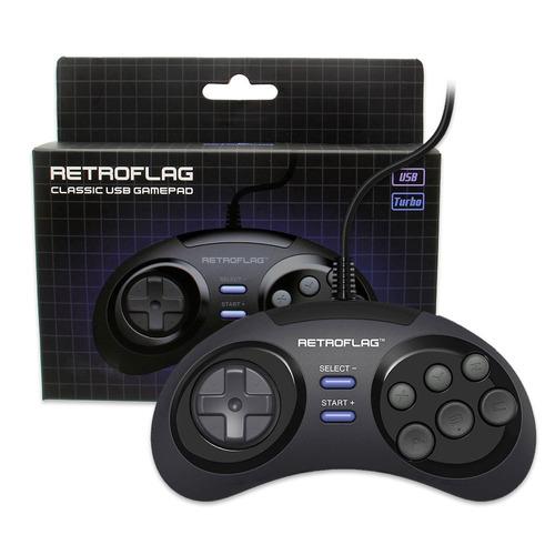 original retroflag megapi jogo console wired controlador usb