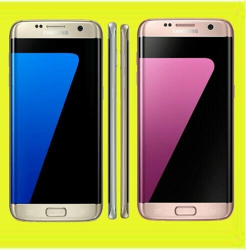 original s7 edge 32gb 5.5  octa semi nuevo gold azul negro