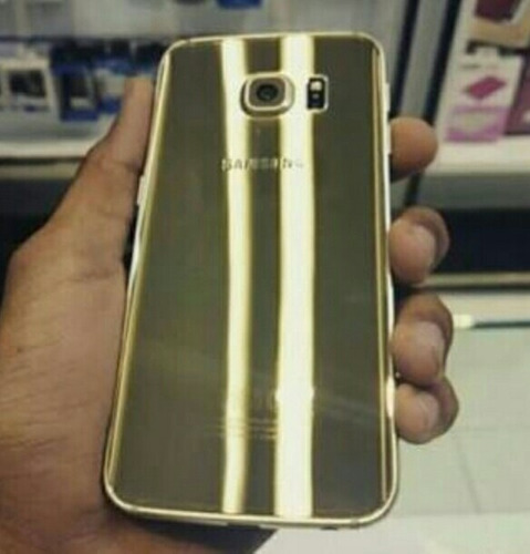 original samsung s6 edge 64gb dorado gold accesorios sellado