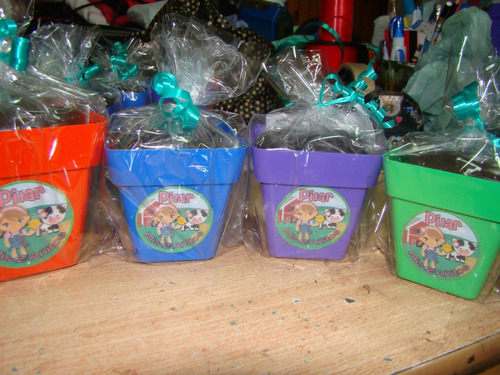 original souvenirs set de jardineria maceta nr.8  por unidad