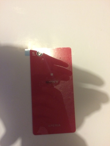 original tapa trasera sony xperia z1 compact rosa