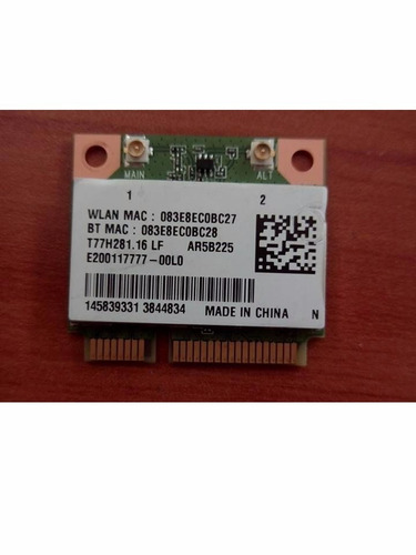 original tarjeta wireless sony vaio svt13 series t77h281.16