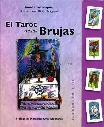 original tarot de las brujas envío + libro ilustrado