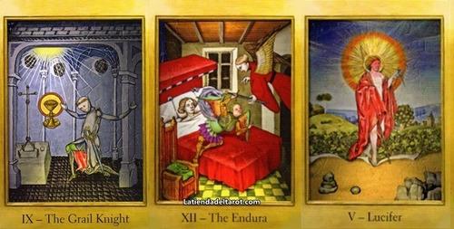 original tarot de los cátaros con guía + envío