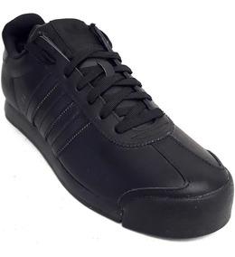 Original Tenis adidas Originals Samoa Retro Leather Total Black Tenisshop