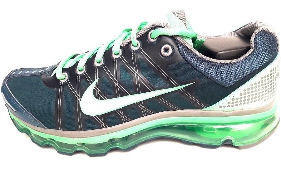 Original Tenis Nike Air Max 2009 Running Suela 360 Blue