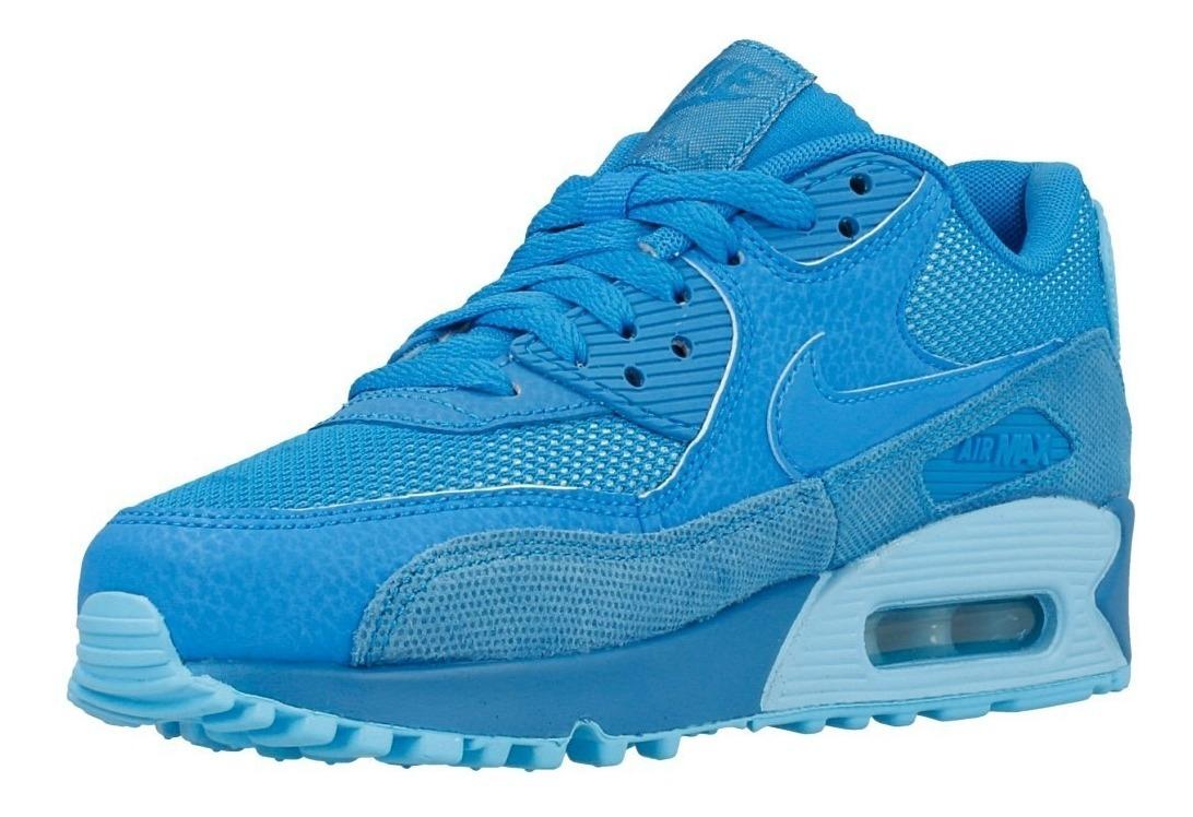 nike air max 90 mujer azul