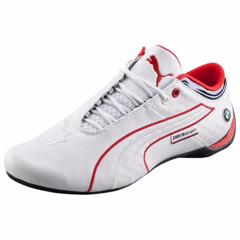 ba69e4511 Original Tenis Puma Future Cat M1 Bmw Big Cat Blanco Total ...