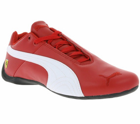 buy online bab30 ba2be Original Tenis Puma Future Cat Mid Cat Ferrari Piel Red Dña