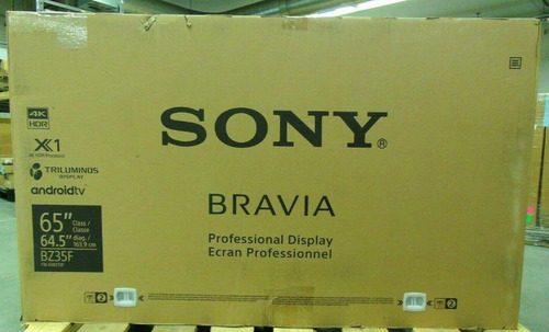 original tv sony bravia 4k ultra hd 65 pulgadas