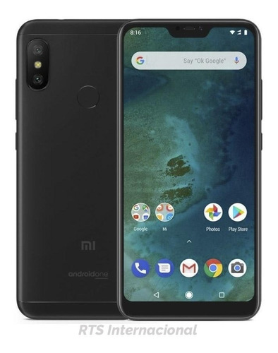 original xiaomi mi a2 lite 32+3gb global 4g dual sim 12+5mpx