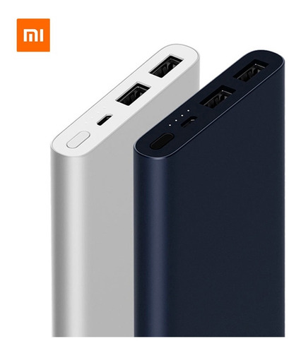 original xiaomi power bank 2i 10,000mah batería dual usb new