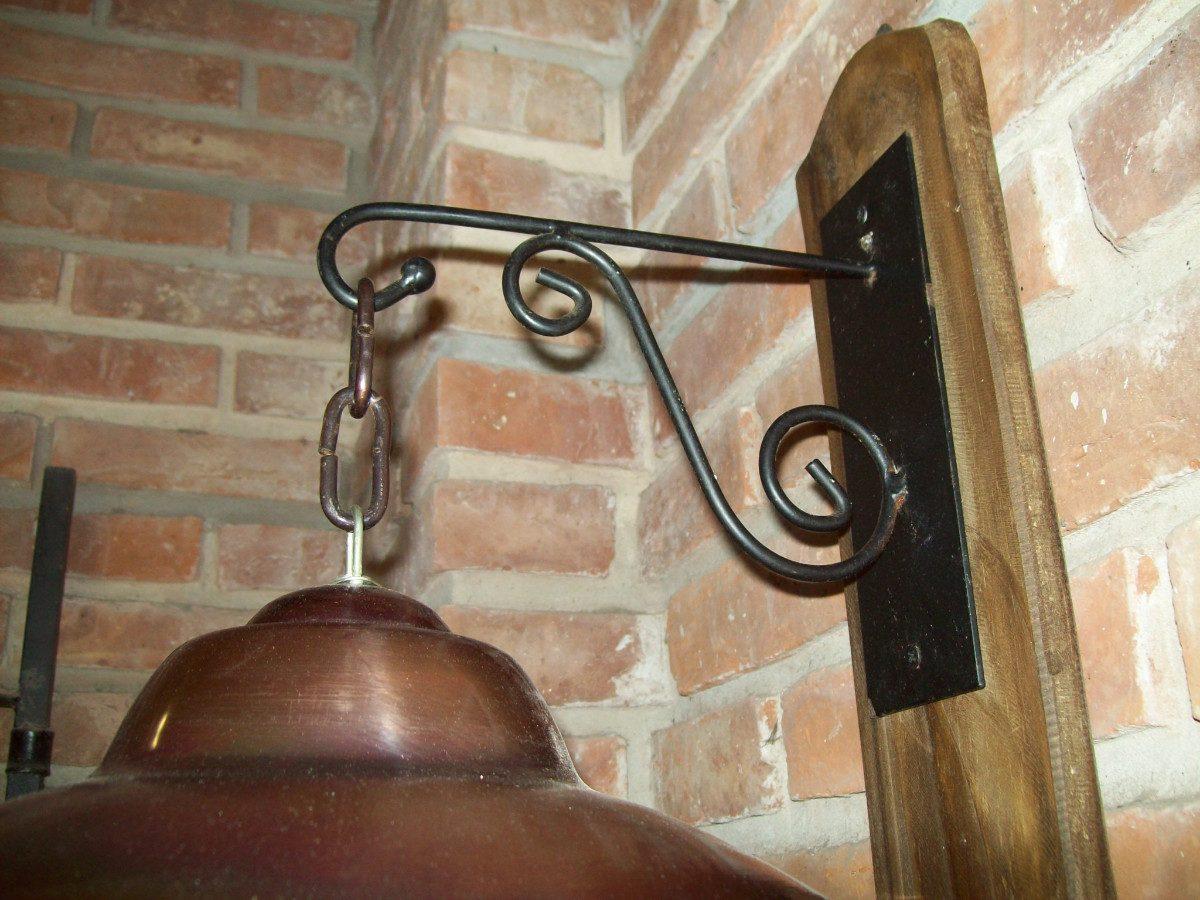 Original Y Decorativo Aplique De Pared Rustico 480 00 En
