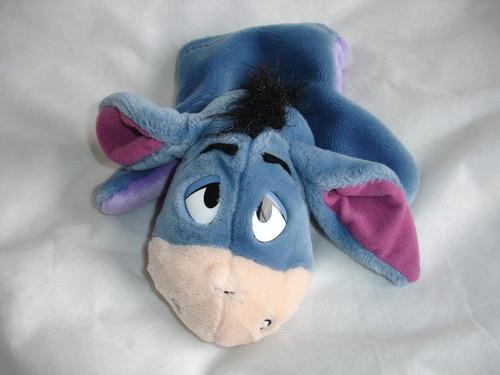 original y tierno titere burro - igor de winnie pooh