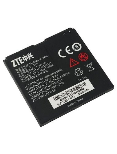 original zte warp n860 batería li3717t43p3h565751 - embalaje